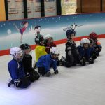 Тренировка детской хоккейной группы