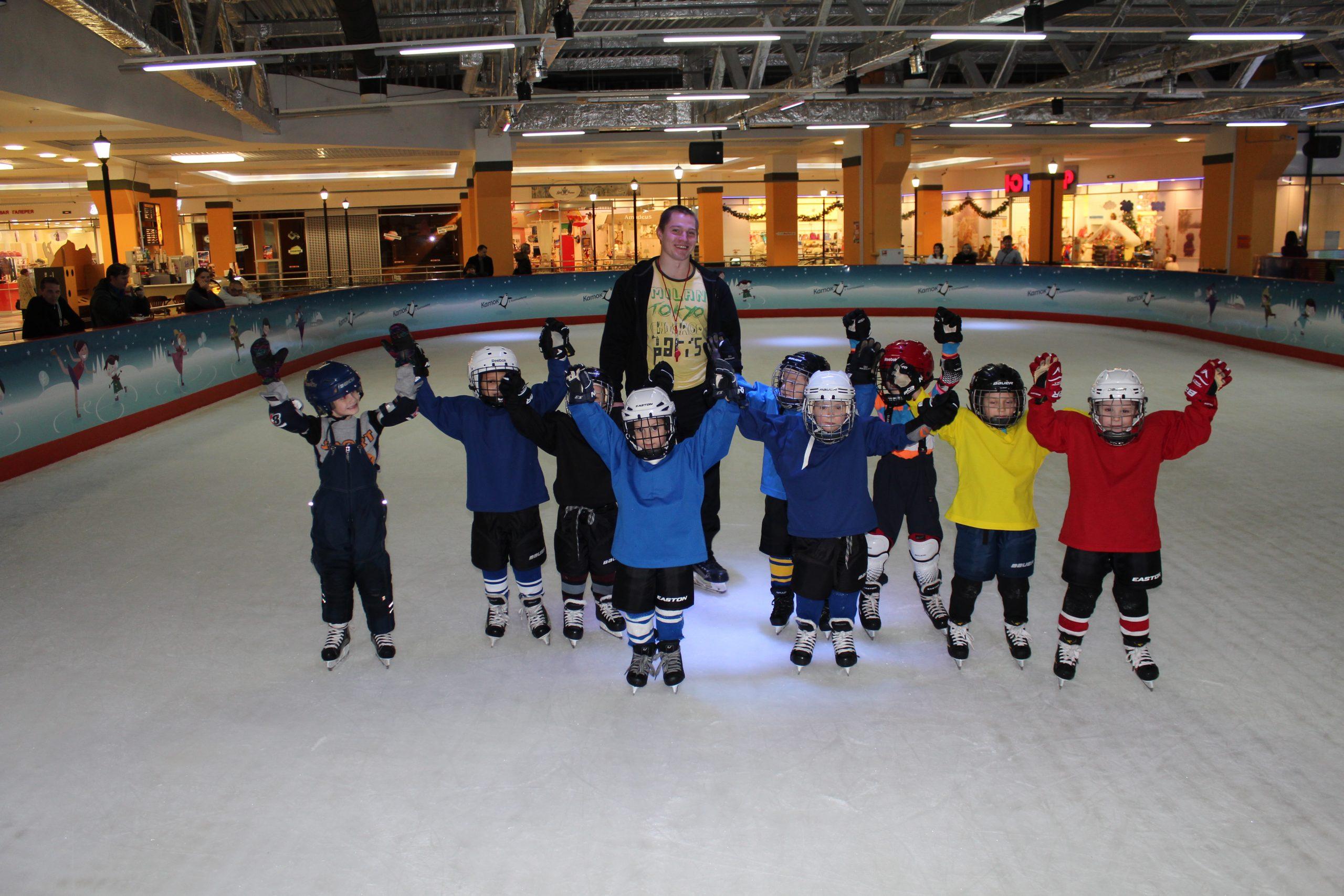 Мероприятие для детской хоккейной группы (4-7 лет)
