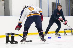 Тренировка хоккеиста любителя
