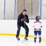 Индивидуальная тренировка по хоккею с ребенком