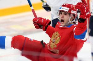 Хоккеист сборной России