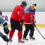 Правильная стойка хоккеиста