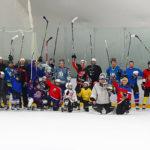 Семейные тренировки по хоккею