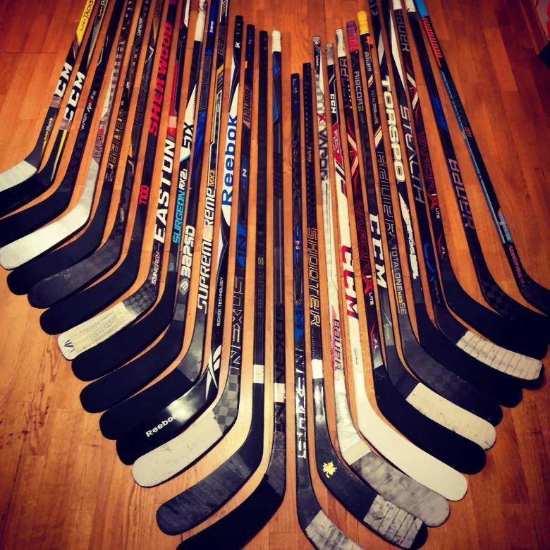 Параметры хоккейных клюшек