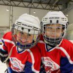 Детские тренировки по хоккею на Парнасе