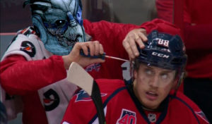 Концентрация внимания хоккеиста