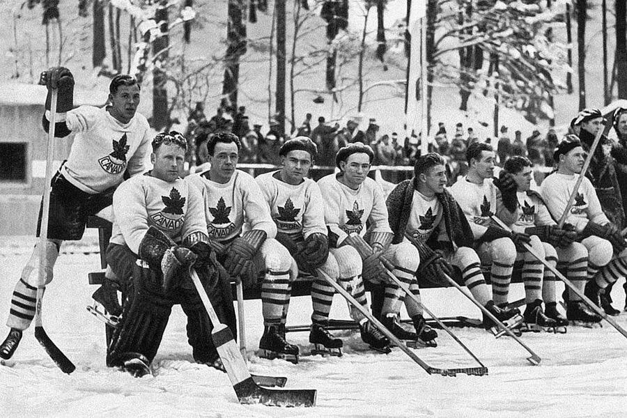 Канадские хоккеисты