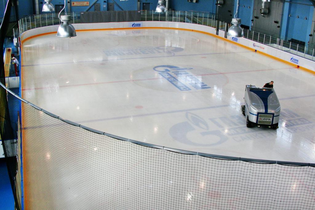 Подготовка льда