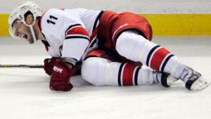 Травмы в хоккее