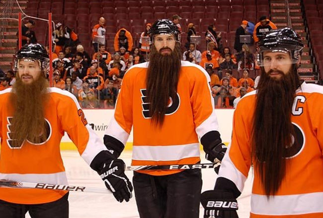 Бороды в хоккее