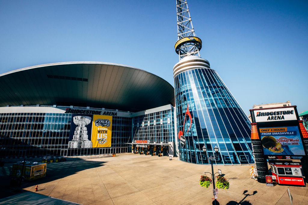 Bridgestone Arena, Нэшвилл